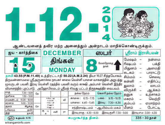 numerology by date of birth 1 december in tamil