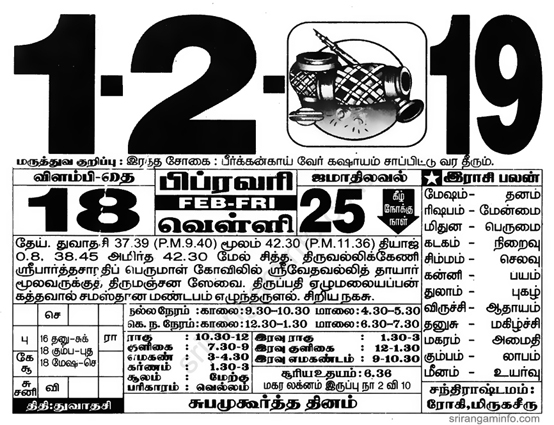 date of birth 16 february numerology tamil