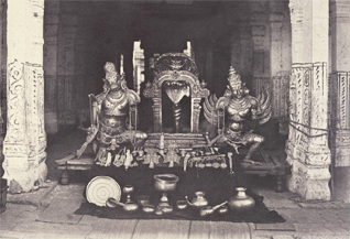 Srirangam olden days vaganam