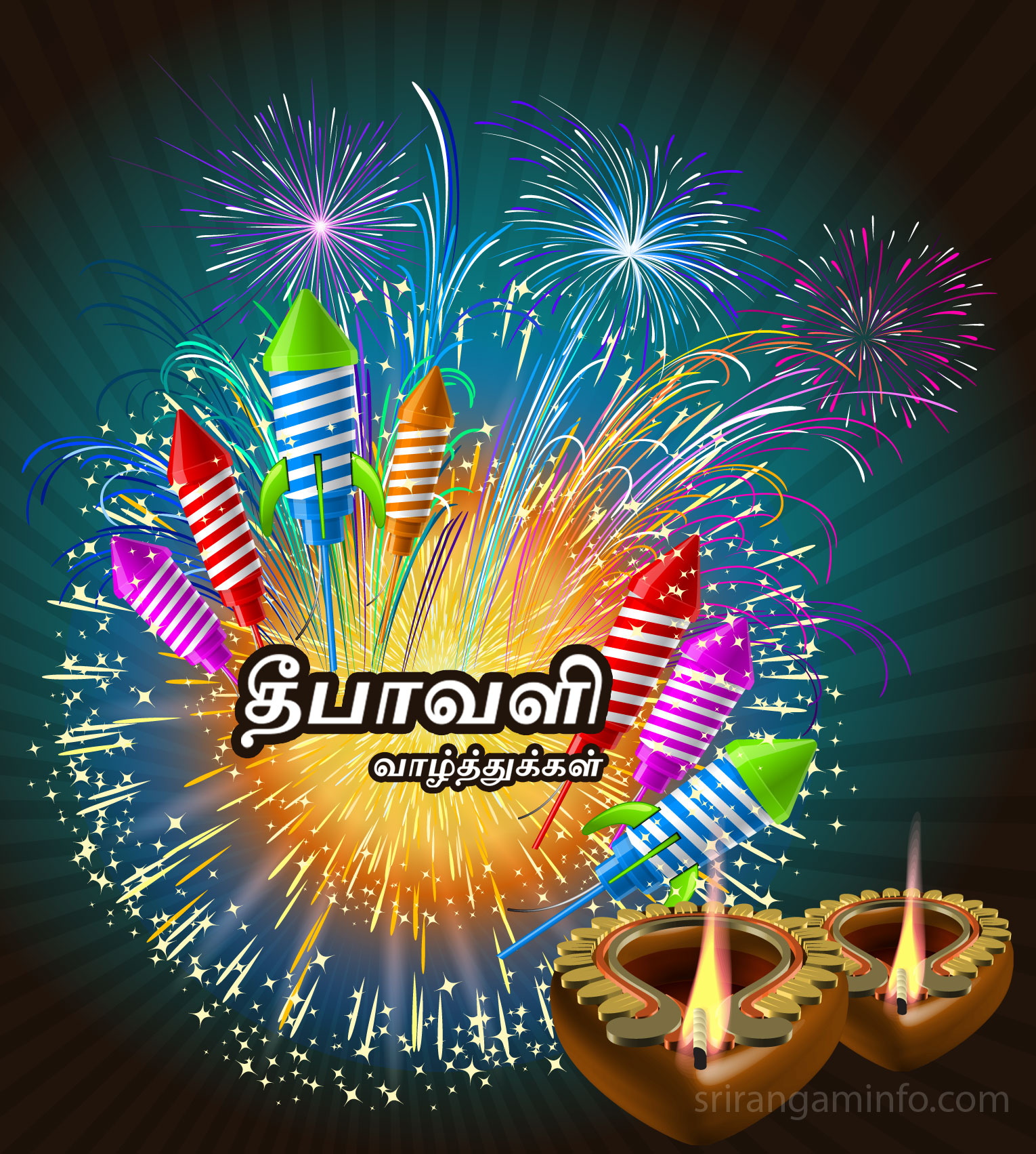 Deepavali greetings tamil. happy diwali in tamils
