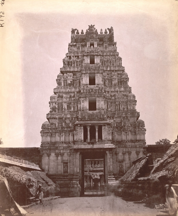 srirangam old second gopura