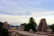kumbabishekam Srirangam early morning