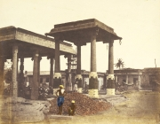 parthasarathi temple old picture mandapa
