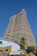 rajagopuram side view