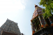 srirangam chithirai ther and gopuram