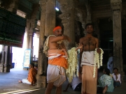 srirangam flower worship