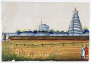 srirangam old painting