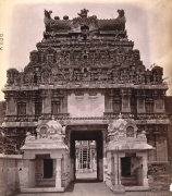 srirangam old photos gopuram