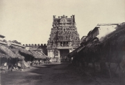 srirangam old third gopura